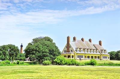 Boat Photograph - Whalehead Club by JAMART Photography