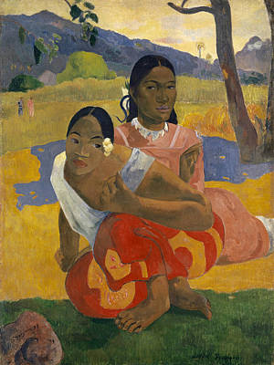 Painting - When Will You Marry?  by Paul Gauguin