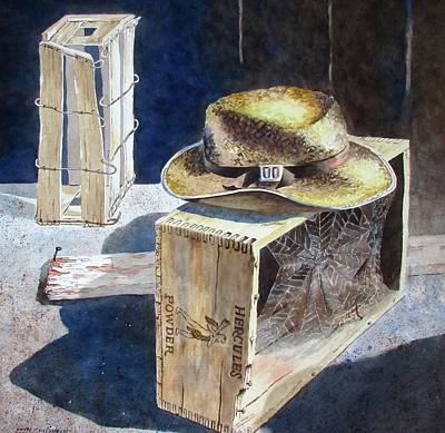 Painting - Where It Was Left by Tony Caviston