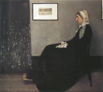 Whistler Painting - Whistler's Mother by James Abbott McNeill Whistler
