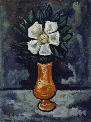 Painting - White Flower by Marsden Hartley