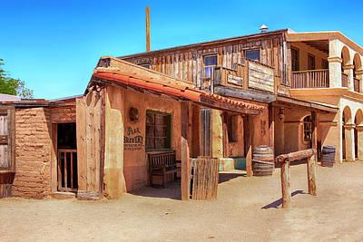 Photograph - Wild West Arizona Style by Chris Smith