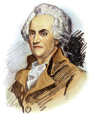 Drawing - William Franklin, 1731-1813 by Granger
