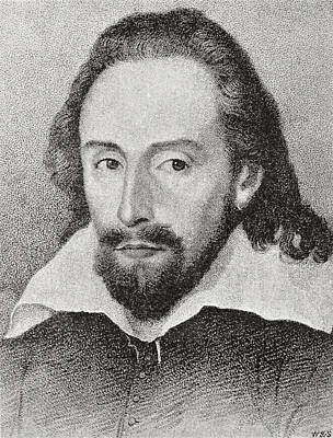 William Shakespeare, 1564 - 1616 Art Print by Vintage Design Pics