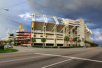 Photograph - Williams-brice Stadium 1 by Joseph C Hinson Photography