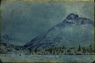 Photograph - Williams Peak Alaska by Fred Denner