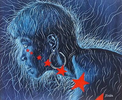 Wilma Art Print by Shahid Muqaddim