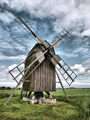 Photograph -  Windmill by Jouko Lehto