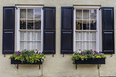Photograph - 2 Windows In Charelston  by John McGraw