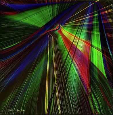 Digital Art - Windows by Iris Gelbart