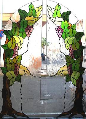 Glass Art - Winogrona by Justyna Pastuszka
