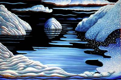 Painting - Winter by Barbara Stirrup