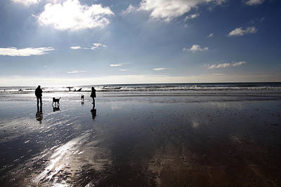 Photograph - Winter Beach by Steve Ball