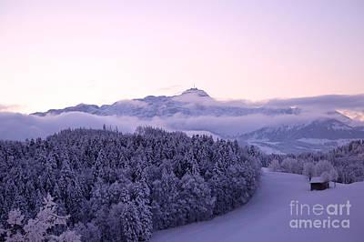 Photograph - Winter In Switzerland by Susanne Van Hulst