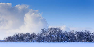 Photograph - Winter Landscape by Josef Pittner