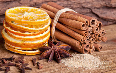 Bakery Photograph - Winter Spices by Nailia Schwarz