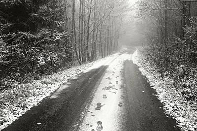 Photograph - Winter Way by Jenny Rainbow