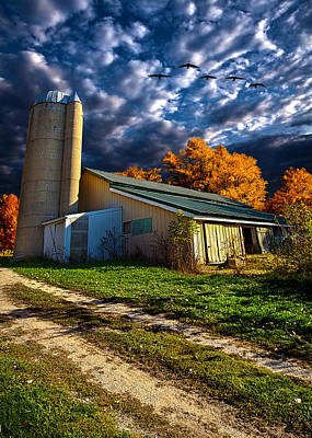 Silos Photograph - Wisconsin Life by Phil Koch