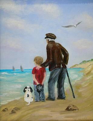 Wishing Art Print by Kay Mashburn