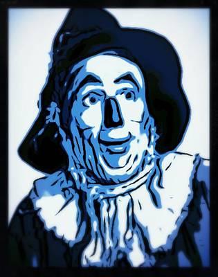 Singer Digital Art - Wizard Of Oz Scarecrow by John Springfield