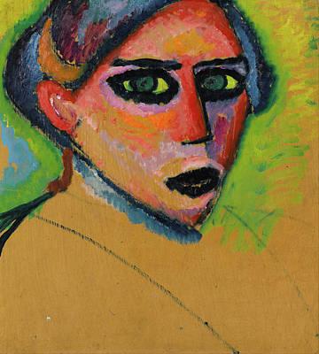 Jawlensky Painting - Woman's Face by Alexej von Jawlensky