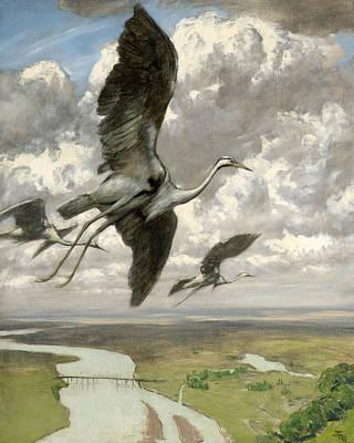 Painting - Wondrous Birds by Treasury Classics Art