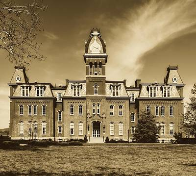 Photograph - Woodburn Hall - West Virginia University by Library Of Congress