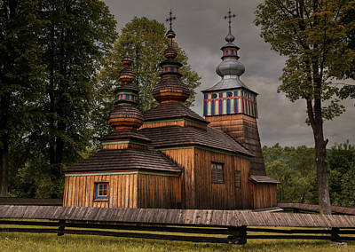 Photograph - Wooden Church In Swiatkowa Mala by Jaroslaw Blaminsky