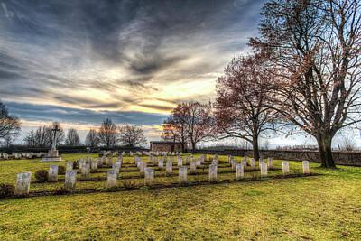 Photograph - World War 2 War Graves Budapest by David Pyatt