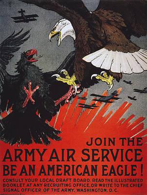 World War I: Air Service Art Print
