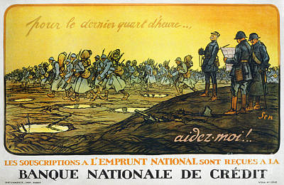 Painting - World War I: French Poster by Granger