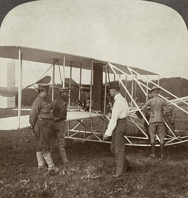 Photograph - Wright Brothers Biplane by Granger