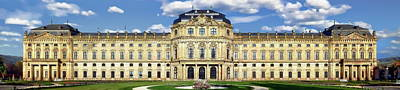Photograph - Wurzburg Residence by Anthony Dezenzio