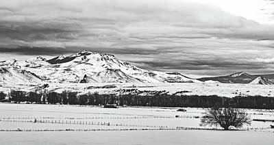 Photograph - Wyoming Winter Vista by Library Of Congress
