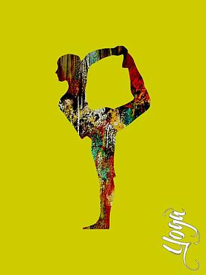 Spiritual Mixed Media - Yoga Collection by Marvin Blaine