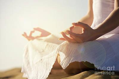 Yoga Girl Photograph - Yoga by Kati Molin