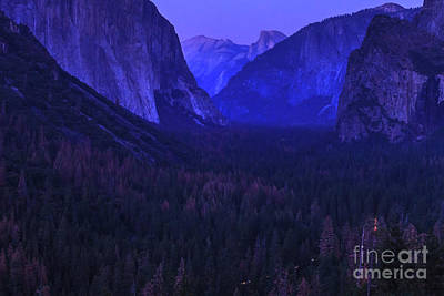 Photograph - Yosemite At Night by Benny Marty