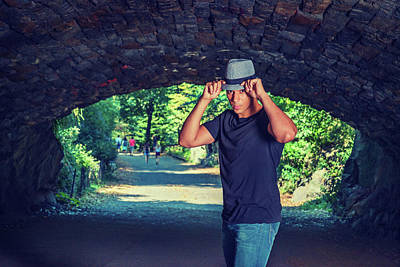 Photograph - Young Strong Man by Alexander Image
