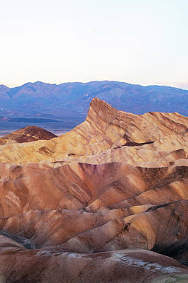 Art Print featuring the photograph Zabriskie Point by Catherine Lau