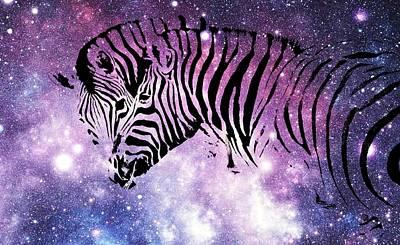 Photograph - Zebra Heaven by Werner Lehmann