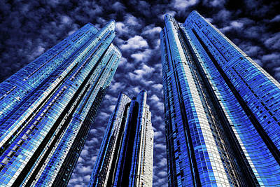 Photograph - Zenith Towers by Max Neivandt