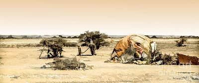 #20 A Day In The Desert Art Print by Lemmi Pfeiffer