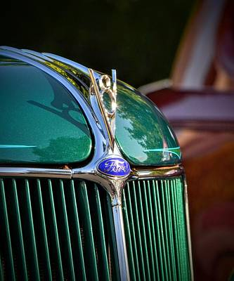 Photograph - Classic Ford by Dean Ferreira