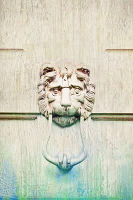 Door Knocker Art Print by Tom Gowanlock