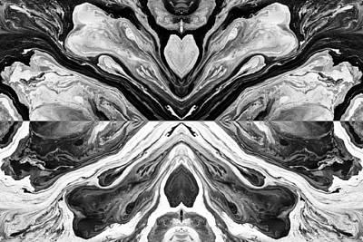 Acrylic Photograph - Fluid Acrylic Paint by Sumit Mehndiratta