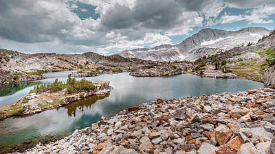 Photograph - 20 Lakes Basin - Rocky Islands by Alexander Kunz