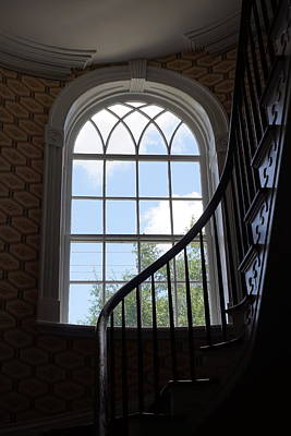 Photograph - Davenport House Window by Laurie Perry