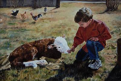 Painting - 20 Minute Orphan by Lori Brackett