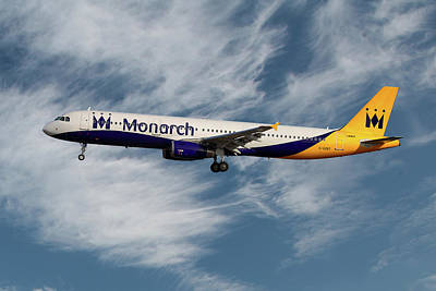 Monarch Photograph - Monarch Airbus A321-231 by Smart Aviation