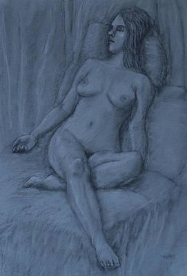 Pastel - Nude Study by Masami Iida